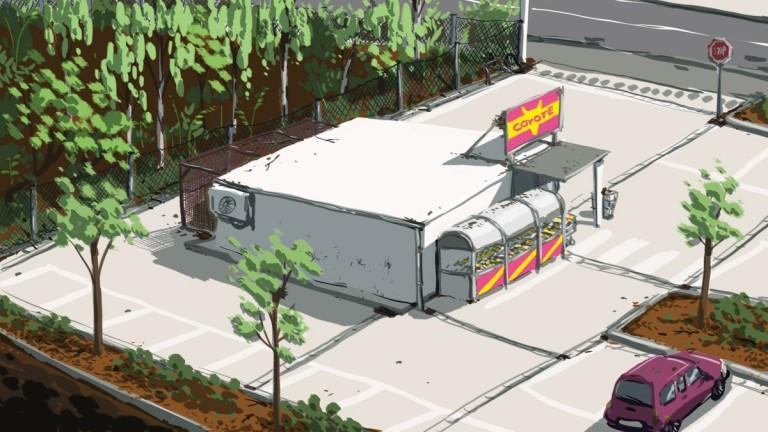 Concept Art - The Supermarket